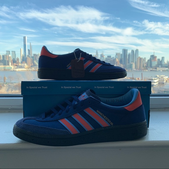 New Adidas Manchester 89 SPZL Shoes Sneakers US6